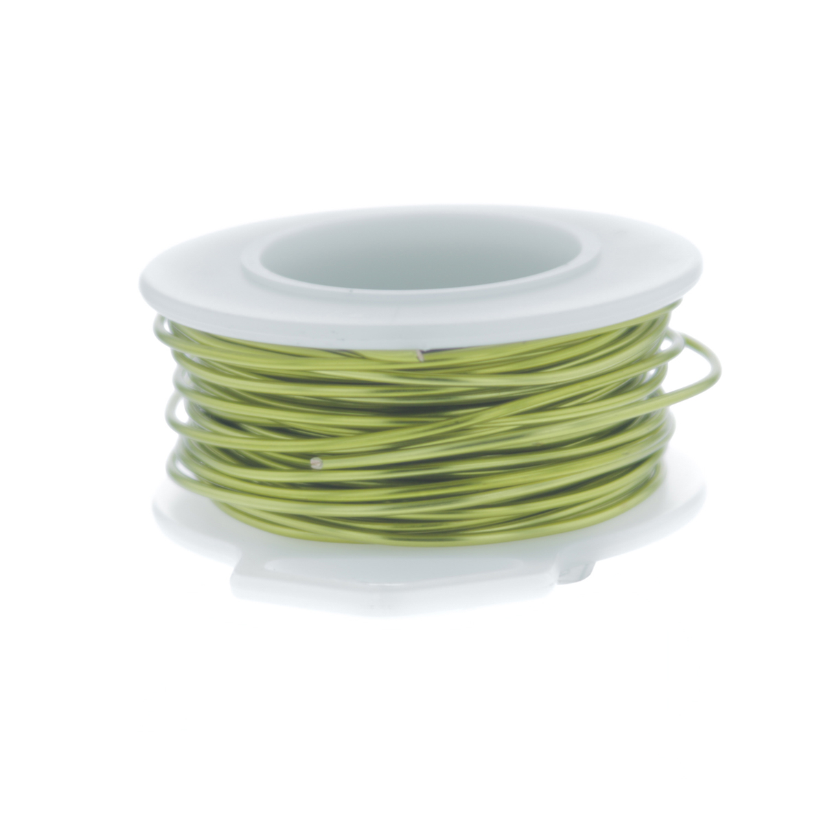 Peridot Silver Plated Copper Craft Wire
