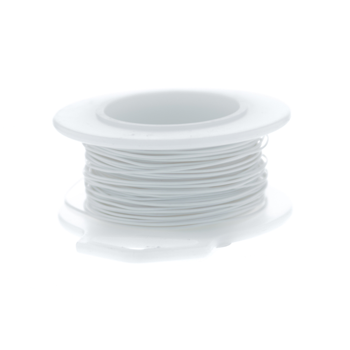 Ultra White Silver Plated Copper Craft Wire