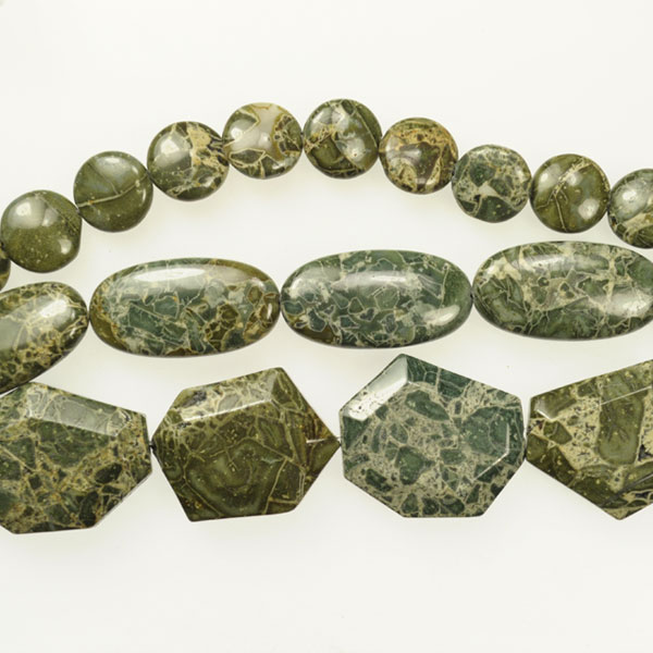 Jasper - Green Brecciated