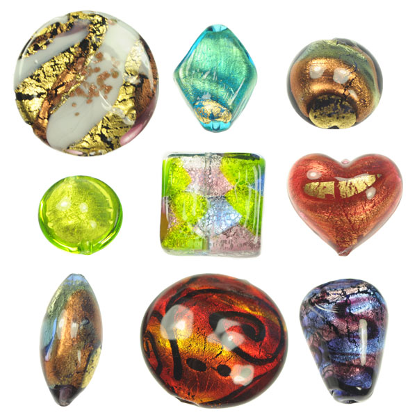 Handmade Venetian Glass Beads