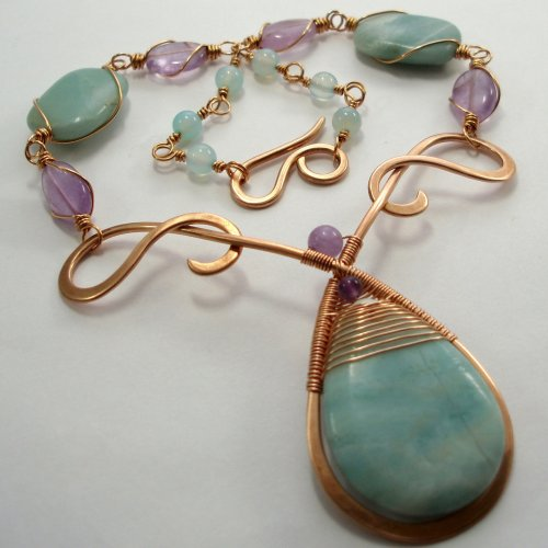 Mermaid's Teardrop Necklace