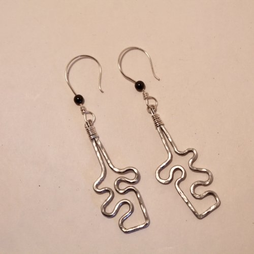 Jigsaw Puzzle Earrings