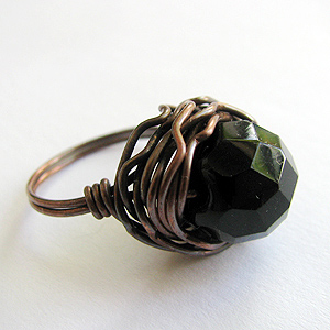 Quick Wired Bead Ring