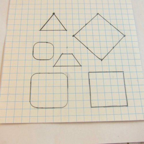 Graph Paper Patterns for Jewelry