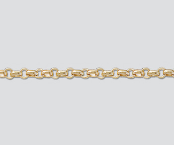 Gold Filled Bar & Ring Chain 4mm Bar 3mm Ring - 10 Feet