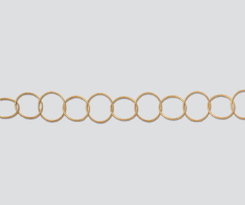 Gold Filled Cable Chain 10.5mm - 10 Feet