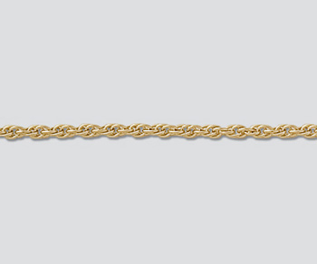 Gold Filled Chain Rope 1.63mm - 20 inches - Pack of 1