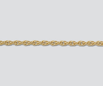 Gold Filled Chain Rope 1.85mm - 24 inches - Pack of 1