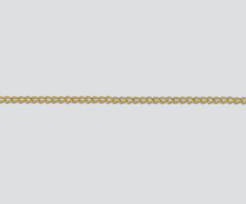 Gold Filled Curb Chain 1.1mm - 10 Feet