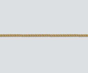 Gold Filled Chain Small Curb 1.08mm - 18 inches - Pack of 1