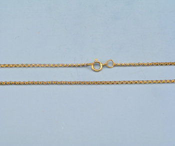 Gold Filled Rolo Chain 1.4mm - 20 inches - Pack of 1