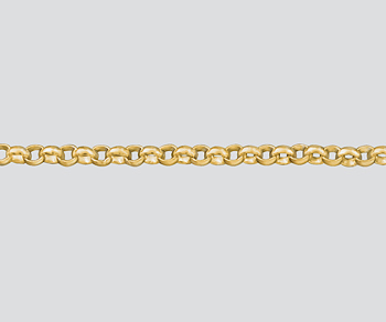 Gold Filled Rolo Chain 1.4mm - 10 Feet