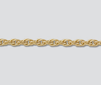Gold Filled Rope Chain 1.8mm - 10 Feet