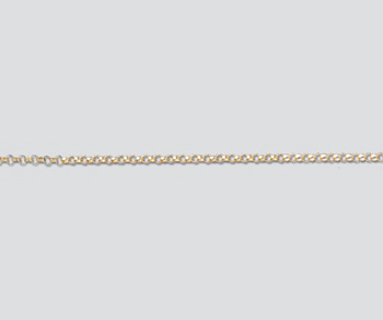 Gold Filled Small Rolo Chain 1.1mm - 10 Feet