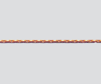 Rose Gold Filled Beading Chain .70mm - 10 Feet