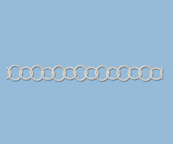 Sterling Silver Cable Chain 5mm - 10 Feet
