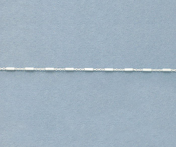 Sterling Silver Chain 1.2x3.3mm  - 10 Feet