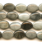 Cat's Eye 10x14mm Oval Beads - 8 Inch Strand