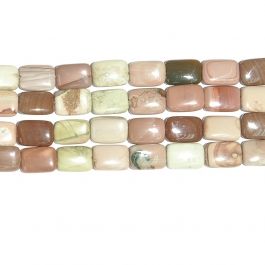 Imperial Jasper 13x18 Rectangle Beads - 8 Inch Strand