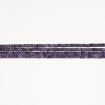 Amethyst 4mm Faceted Rondelle Beads - 8 Inch Strand