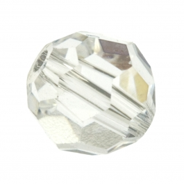 4mm Crystal 5000 Round Swarovski Crystal Beads - Pack of 12