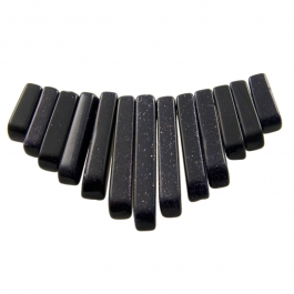 13 Piece Blue Goldstone Collar Set - Pack of 1