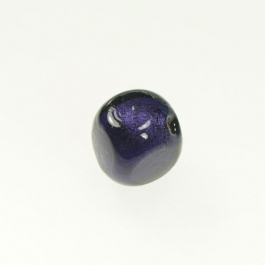 Foil Nugget Purple/White Gold, Size 16mm