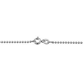Sterling Silver Ball Chain 1.5mm 20 inch - Pack of 1