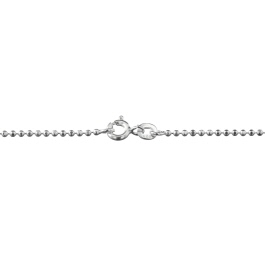 Sterling Silver Ball Chain 1.5mm Diamond Cut 20 inch - Pack of 1