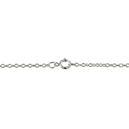 Sterling Silver Chain Cable 1.8mm 18 inch - Pack of 1