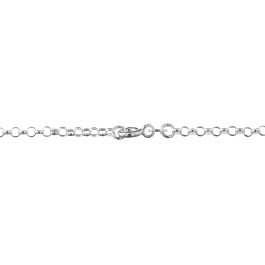 Sterling Silver Rolo Chain 2.5mm 18 inch - Pack of 1