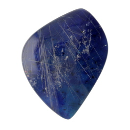 29X21mm Rutilated Quarts On Lapis