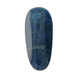 30X13mm Rutilated Quarts On Lapis