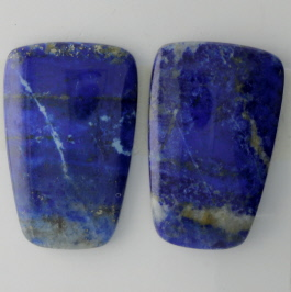 28X18mm Lapis Pair