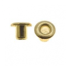 3mm Brass Eyelets - Pack of 5