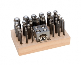 24 Piece Dapping Punch Set