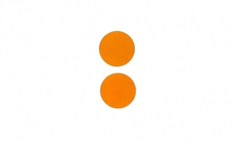 "Lillypilly - Orange - 1"" Disc (PKG 2)"