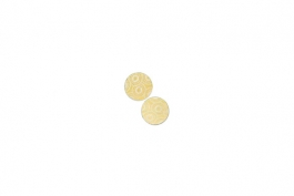 "Lillypilly - Gold Anemone - 5/8"" Disc (PKG 2)"