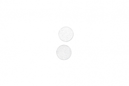 "Lillypilly - Silver Circles - 3/4"" Disc (PKG 2)"