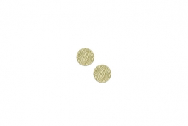 "Lillypilly - Gold Waves - 5/8"" Disc (PKG 2)"