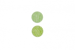 "Lillypilly - Lime Waves - 1"" Disc (PKG 2)"