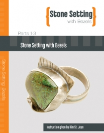 Stone Setting with Bezels featuring Kim St. Jean - 3 DVD Set