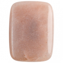 Peach Moon Stone 22x30mm Rectangle Cabochon