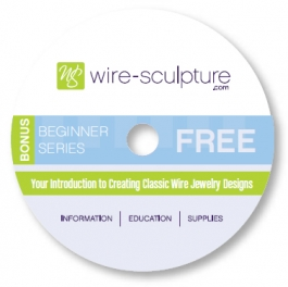 Free Jewelry Instructional DVD - Introduction to Traditional Wire Jewelry