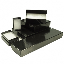 Gloss Black Jewelry Box Variety Pack - Pack of 78