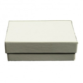 3 1/16 X 2 1/8 X 1 Inch White Swirl Jewelry Box - Pack of 3