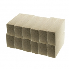WireJewelry Medium Duty Insulating Fire Brick, Rated up to 2300 Degree Fahrenheit - 12 Pack