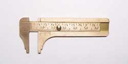 Brass Caliper - Gemstone And Bead Measuring Tool