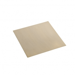 24 Gauge Dead Soft Double Clad Silver Filled Sheet - 3 Inches