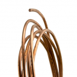 21 Gauge Round Dead Soft Copper Wire
